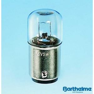 00143005, Röhrenlampe RL/I 16x35mm, BA15d, 30V, 5W, 166 mA