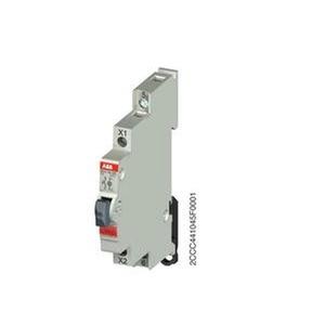 E217-16-10C, Leuchttaster Rot 16A 1S 250VAC mit LED 115-250VAC
