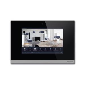 8136/12-825, Busch-ComfortPanel 12.1, Glas schwarz, Busch-Powernet KNX, Touchpanels