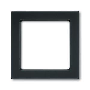 8251-81, Zentralscheibe, anthrazit, carat, Abdeckungen für Multimedia/Kommunikationsadapter