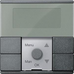 Zeitschaltuhr-Modul Standard, anthrazit, System M