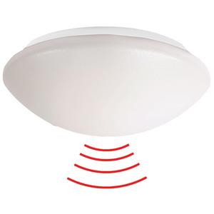 L8-LEDN-HF weiß, LED-Rundleuchte zur Wand- oder Deckenmontage mit integriertem (HF-) Radarmelder
