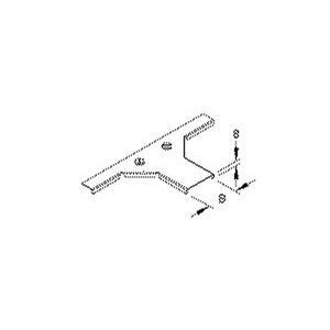 RTAKDV 100, Deckel für Anbau T-Stück für Mini-KR, Breite 104 mm, mit Drehriegel, Stahl, bandverzinkt DIN EN 10346