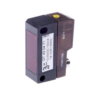 sensor opt,taster 14,8x43x32,5,rotl,HGA 10-30VDC,100mA,Sn:350,M8-Stecker4pol