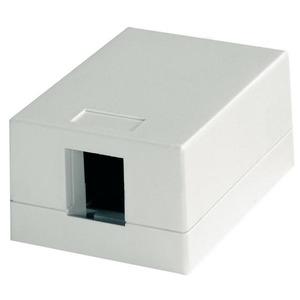 Modul-Aufnahme 46x64, 1-fach AP compact unbestückt