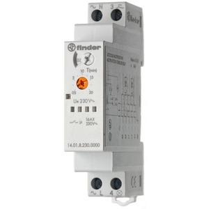 14.01.8.230.0000, Treppenhaus-Lichtautomat, Multifunktion, 8 Programme, 1 Schließer 16 A, für 230 V AC