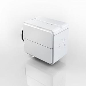 alphaEOS DRIVE (2 Batterien-Fach), Der Stellantrieb steuert die Wärmeabgabe der Heizkörper.