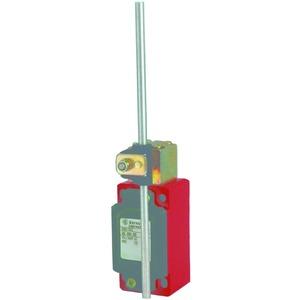 ENM2-SU1Z IW, Metallgekapselter Positionsschalter, Sprungkontakt, 1Öffner/1Schliesser, Stösseleinrichtung, IP65, Kabeleinf. M20