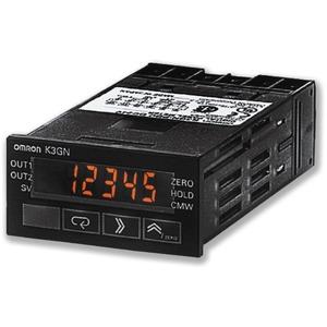 K3GN-PDC-FLK 24VDC, Multifunktionsanzeige, 1/32 DIN, 24V DC, analoger Eingang Strom/Spannung, Impulseingang PNP, 2x Relaisausgang, RS485