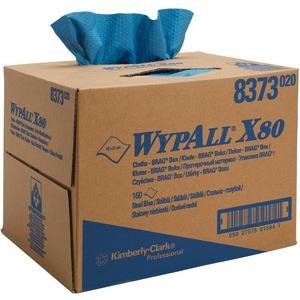 Wischtücher WYPALL X80 blau 31,7x42,6cm 160 Tü.