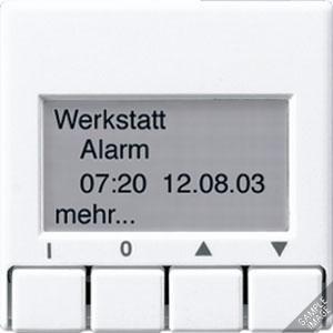A 2041 ANM, Info-Display, 4 Tasten, 4-zeilige Anzeige, Textspeicher (maximal 12 Seiten)