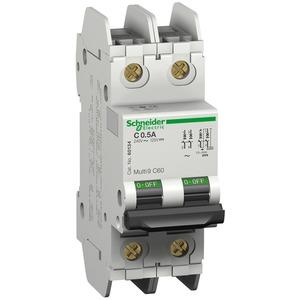 Leitungsschutzschalter C60, UL489, 2P, 10A, C Charakteristik, 240V AC