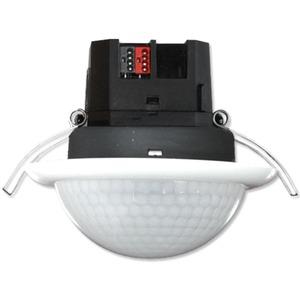 PD4-KNX-DE, KNX-Präsenzmelder mit großem Erfassungsbereich und integriertem KNX-BUS-Anklopper