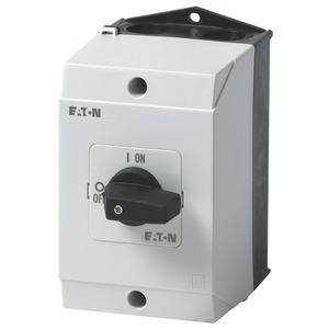 T0-2-1/I1, EIN-AUS-Schalter, 3-polig, 20 A, 90 °, Aufbau