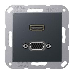MA A 1173 ANM, HDMI und VGA, Tragring, Schraubbefestigung, bruchsicher