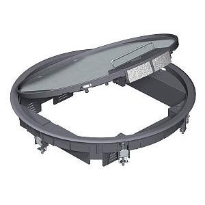 GESR9 U 7011, Geräteeinsatz Durchmesser 305mm für Universalmontage, 9 Geräte, GESR9U7011