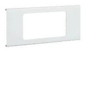 Blende 2-fach R18 PVC FB OT 230 cweiß