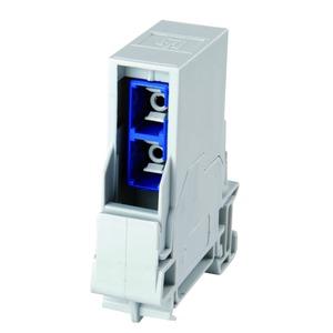 STX Tragschienen-Verbinder inkl. SC Duplex Kupplung Multimode