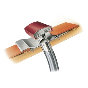 DDF 160 G, DDF 160 G, Dachdurchführung für Rohrdurchmesser 160 mm Dachhaube schiefergrau lackiert