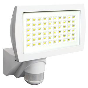 FL2N-LED-230 weiß, Schwenkbarer LED-Strahler mit Bewegungsmelder zur Wandmontage im Außenbereich