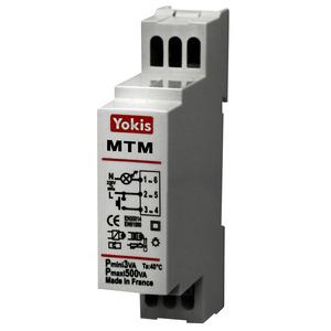 MTM500M, Treppenlicht-Zeitschalter Hutschiene