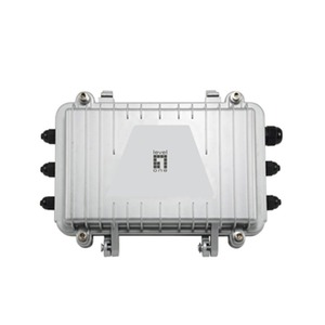 PFE-1014R, PoE Extender over Hybrid Fiber, Outdoor Receiver with 4 PoE Outputs