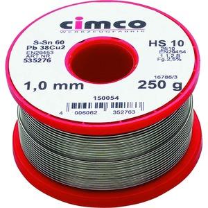 Elektroniklot 1,0mm 100g, DIN EN 29453, Einwegspule