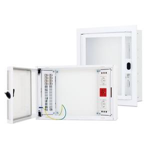 Datenmodul für Hybridgehäuse H500 x B500 x T110 mm RAL9003