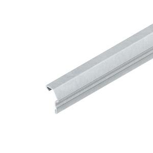 GKS 2000 R, Konvektionsgitterprofil, Länge 2000 mm, Stahl, bandverzinkt DIN EN 10346, pulverbeschichtet, RAL 9010,reinweiß