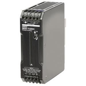 S8VK-T12024-400, Schaltnetzteil - PRO Linie, 120 W, 3x/2x 320/340...576 VAC Eingang, 24 VDC 5A Ausgang, Power Boost,  DIN-Schienenmontage, beschichtete Leiterplatte