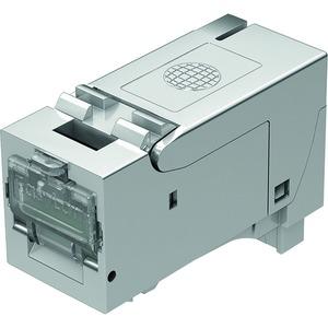 fixLink® SL RJ45 Keystone Kat.6A ISO/IEC geschirmt AWG24-22