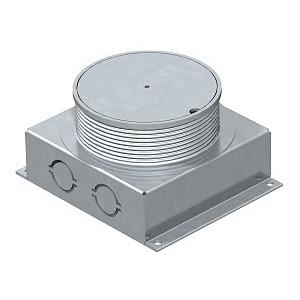UDL2-80 70, Unterflur-Auslassdose für SH und SHF80 115x135x70, St, FS