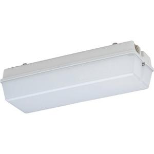 131 L03/3 MA, Kleine schlagfeste LED Not-/Rettungszeichenleuchte mit Einzelbatterie und automatischer Selbstüberwachung, Brenndauer 3Std., 300lm, 5W, IP65, SK I
