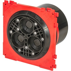 HSI 150 - DG - 3/24-54, Deckel (für 3 Kabel Ø 24 - 54 mm) inkl. Adapterring und Gleitmittelstift