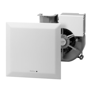 ELS-VNC 60, ELS-VNC 60, Ventilatoreinsatz mit Fassade, codierb. Nachlauf, Intervall V = 60 cbm/h