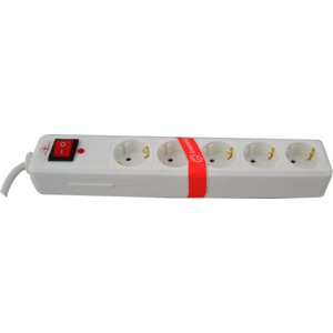Steckdosenleiste 5-fach mit Überspannungsschutz, Funktionsanzeige