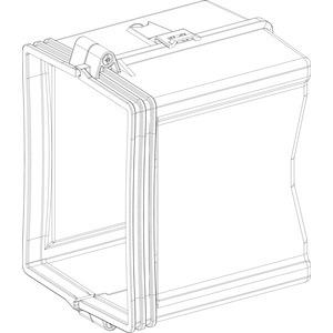 KSA Zubehör, Flanschplatte mit 2 Zugentlastung für KSA400AB4