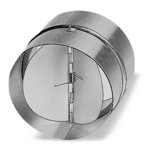 RSKK 100, RSKK 100, Rohr-Verschlußklappe aus Kunststoff, DN 100 mm
