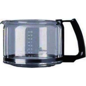 Glaskrug 10 Tassen schwarz