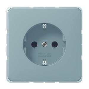 CD 520 KIBF GR, SCHUKO-Steckdose, 16A250V~, Berührungsschutz, bruchsicher