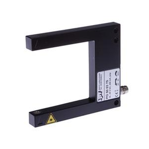 sensor laser,gabel/50 80x70x10 10-35V DC,200mA,Klasse 1,M8-Stecker