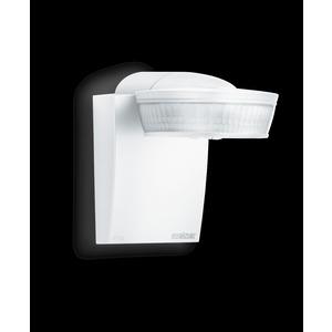 sensIQ KNX weiß, Bewegungsmelder Passiv Infrarot, Aufputz, IP54, 300° Reichweite max: r = 20 m (1047 m²)