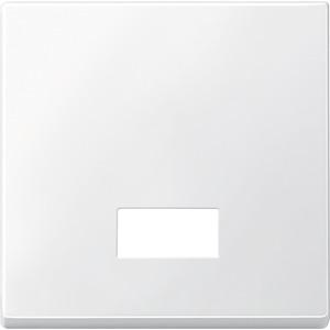 Wippe mit rechteckigem Symbolfenster, polarweiß, System M