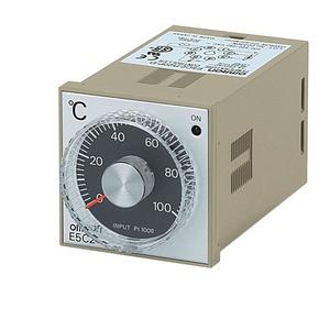 E5C2-R20P-D 100-240VAC -50-50, Temperaturregler, LITE, 1/16 DIN, 48x48mm,Wahlknauf,Einpunktregelung,Pt100,-50-50deg.,100-240V AC