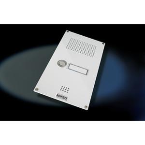 Premium TFE 2 weiß, Türsprechstelle Premium mit 2 Klingeltaster, 1 Schaltrelais