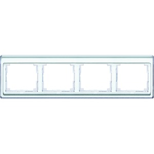 SL 5840 WW, Rahmen, 4fach, aus transparentem Acrylglas, farbig hinterlegt