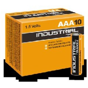 Duracell Industrial Micro ID 2400 1,5V 44x10,5mm, Duracell Industrial Micro MN 2400 1,5V 44x10,5mm VP: 10/100 St.
