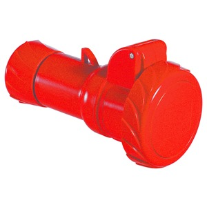 CEE Kupplung Schneidklemmen, 16A, 3p+E, 380-415 V AC, IP67