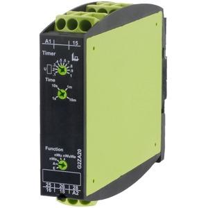 G2ZA20 10MIN 24-240V AC/DC, Multif(5 Fkt.) Rückfallverzögert o Hilfssp 2 W 24-240V AC/DC