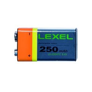 NiMH-Akku IEC 6F22 E-Block 9V 250mAh